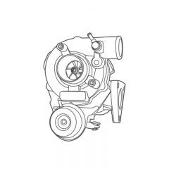 Turbina  KKK 8B43-300-715 Model BV43