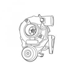 Turbina MITSUBISHI model TD04L-10T-7.0 cod 8M04-200-H91