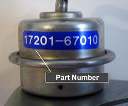 Identificare cod turbosuflanta toyota