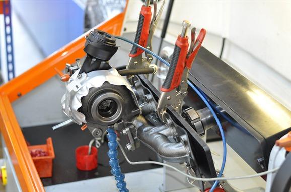 Reparatie turbine