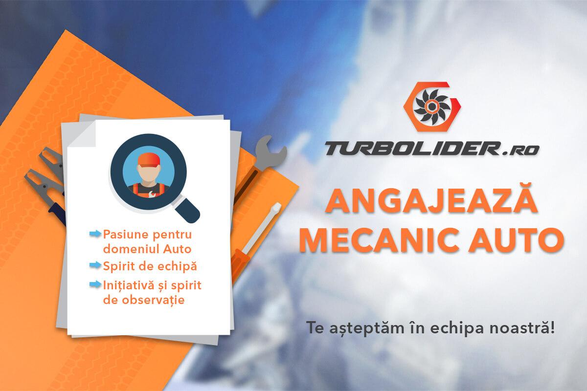 Turbolider.ro angajează mecanic auto