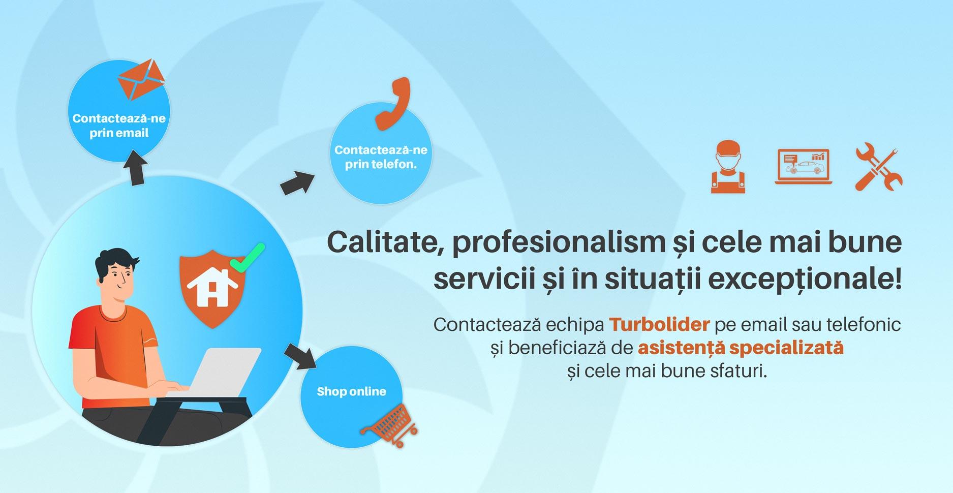 Calitate, profesionalism și cele mai bune servicii și în situații excepționale!