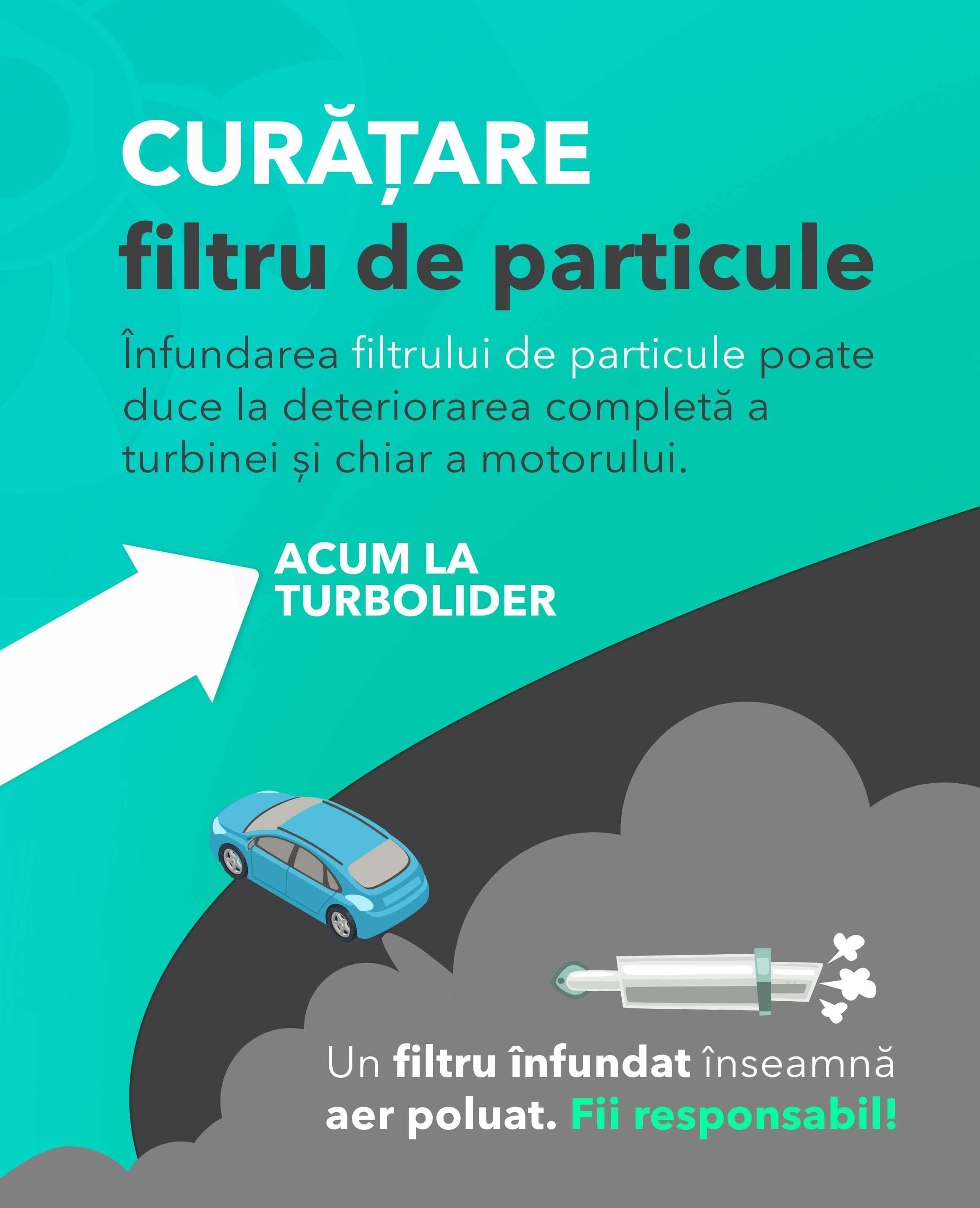 Curatare filtru de particole